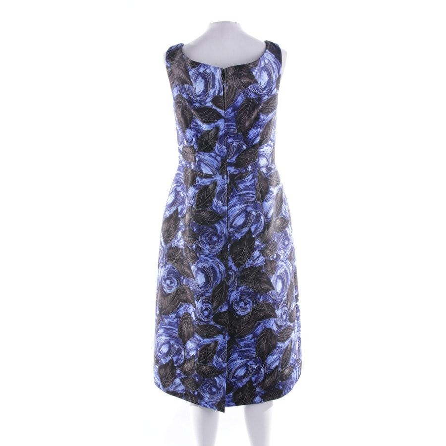 Kleid von Prada in Blau und Schwarz Gr. 36 IT 42