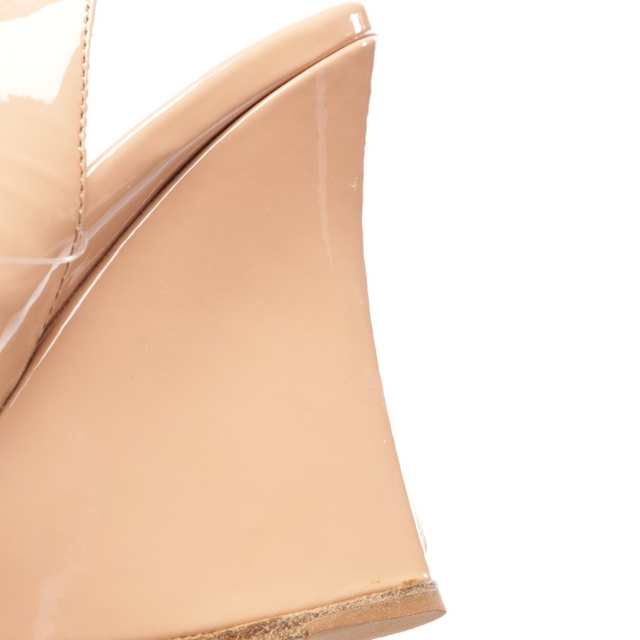 heeled sandals from Miu Miu in nude size D 39