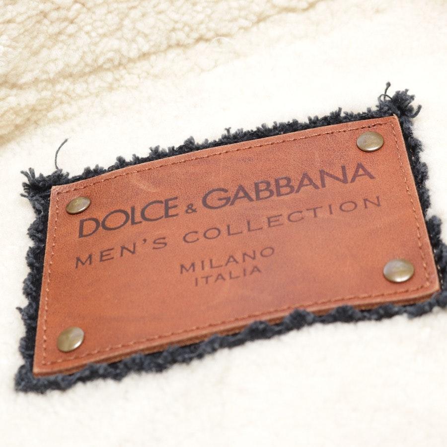 Winterjacke von Dolce & Gabbana in Grau Gr. M