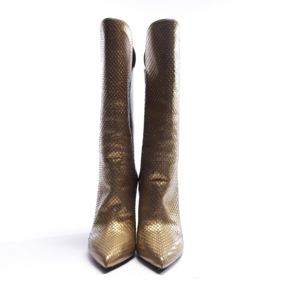 Stiefel von Louis Vuitton in Gold und Schwarz Gr. EUR 38 - Pokerface