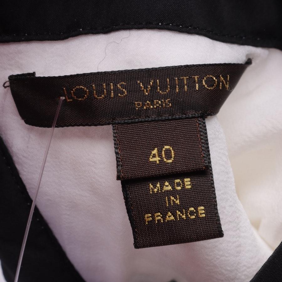 Shirt von Louis Vuitton in Weiß und Schwarz Gr. 38 FR 40