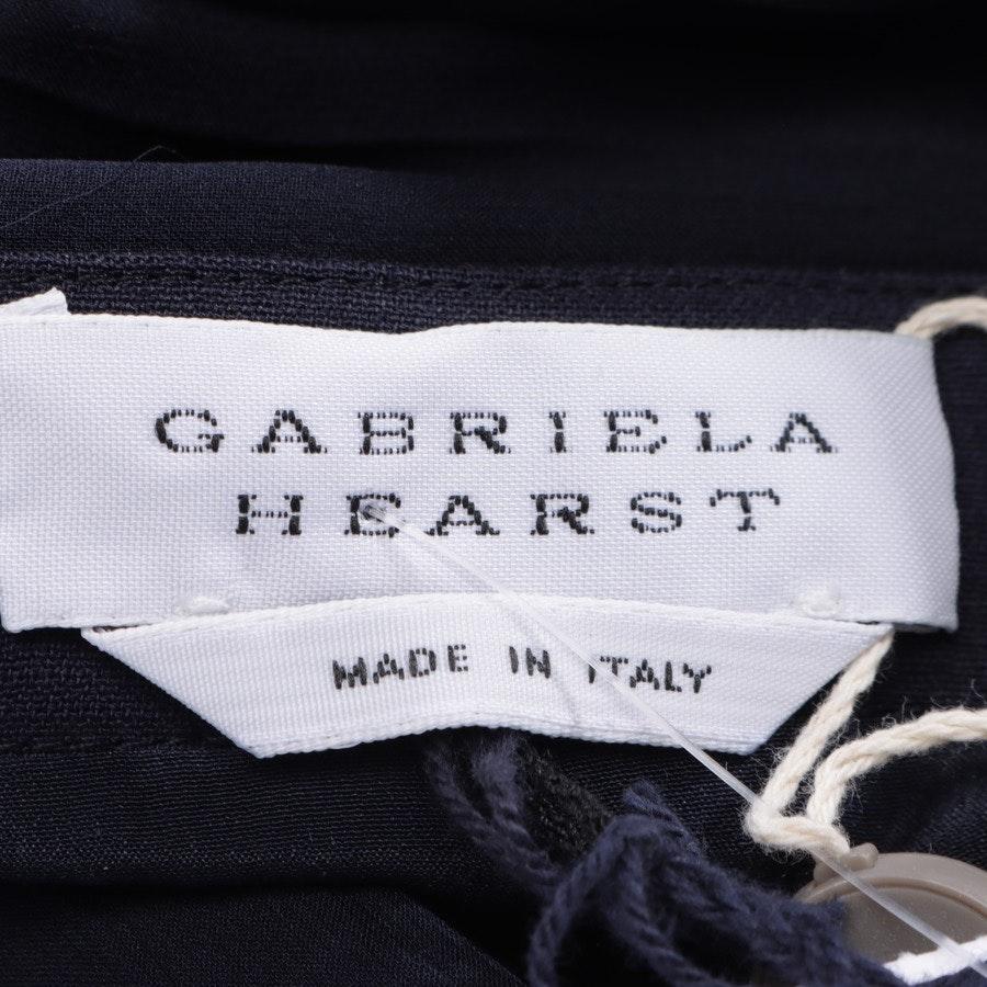 Abendkleid von Gabriela Hearst in Nachtblau Gr. 40 IT 46 - Neu