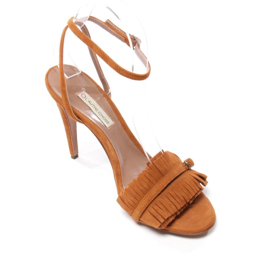 Sandaletten von L'autre chose in Braun Gr. D 40 - Neu