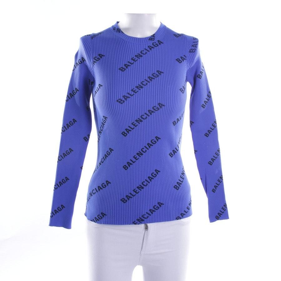Pullover von Balenciaga in Blau Gr. M