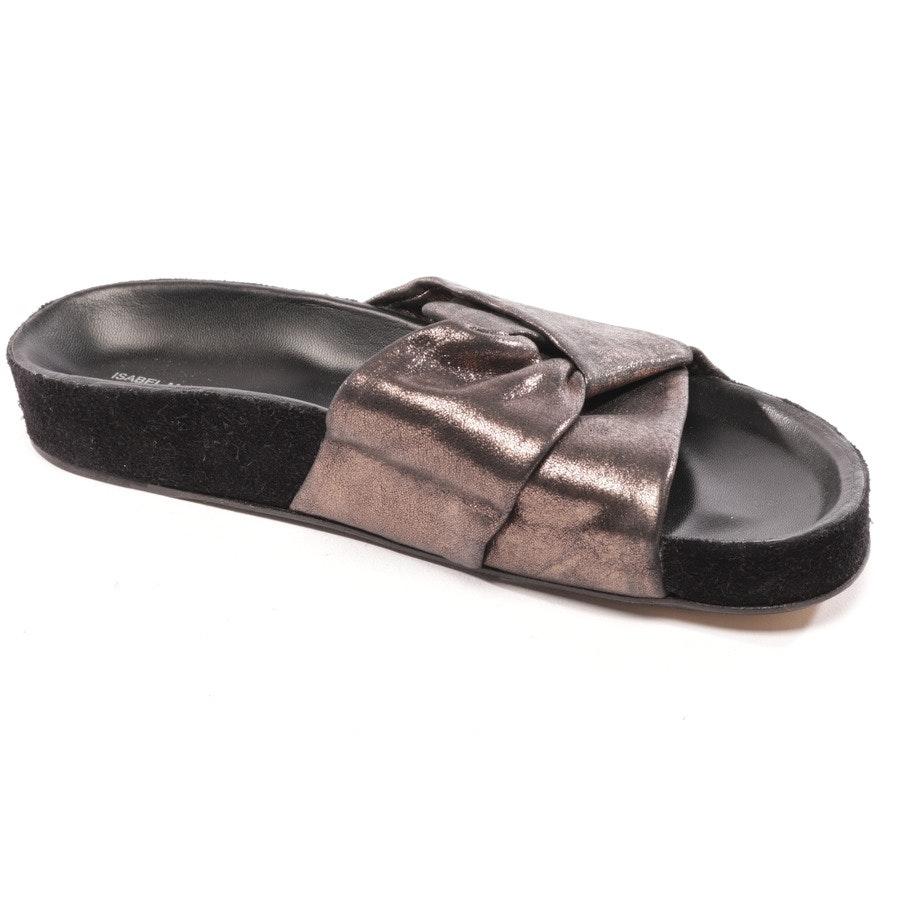Sandalen von Isabel Marant in Silber Gr. D 36 - NEU!