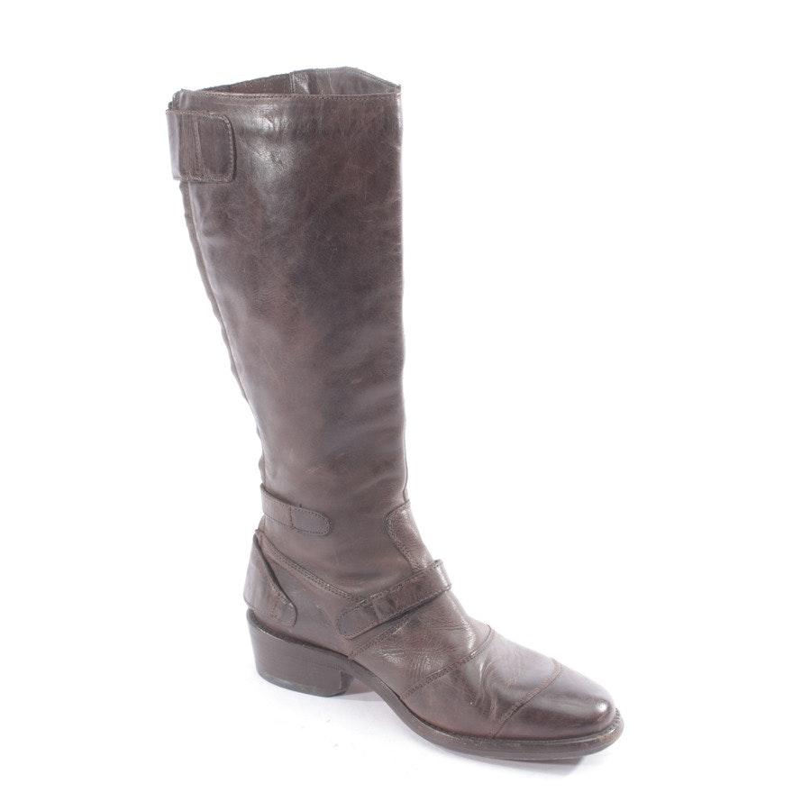 Stiefel von Belstaff in Dunkelbraun Gr. D 37