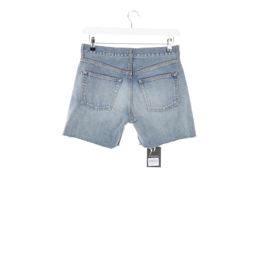 Shorts von Balenciaga in Hellblau Gr. W28 - Neu