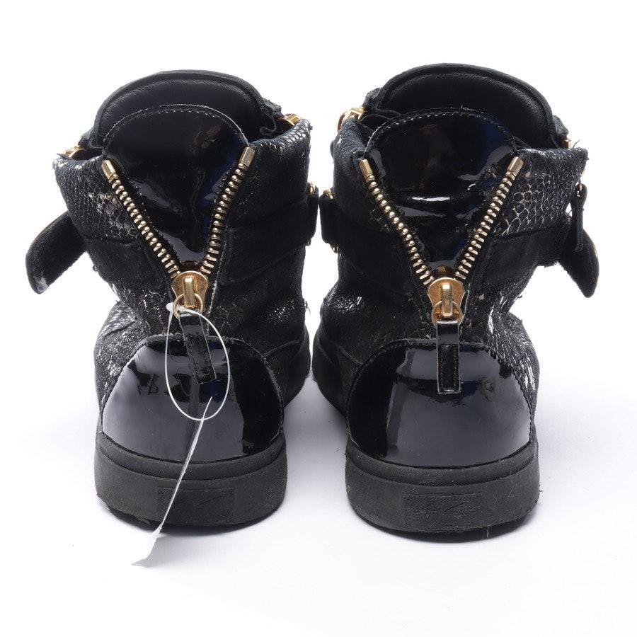 High-Top Sneaker von Giuseppe Zanotti in Schwarz und Gold Gr. EUR 45