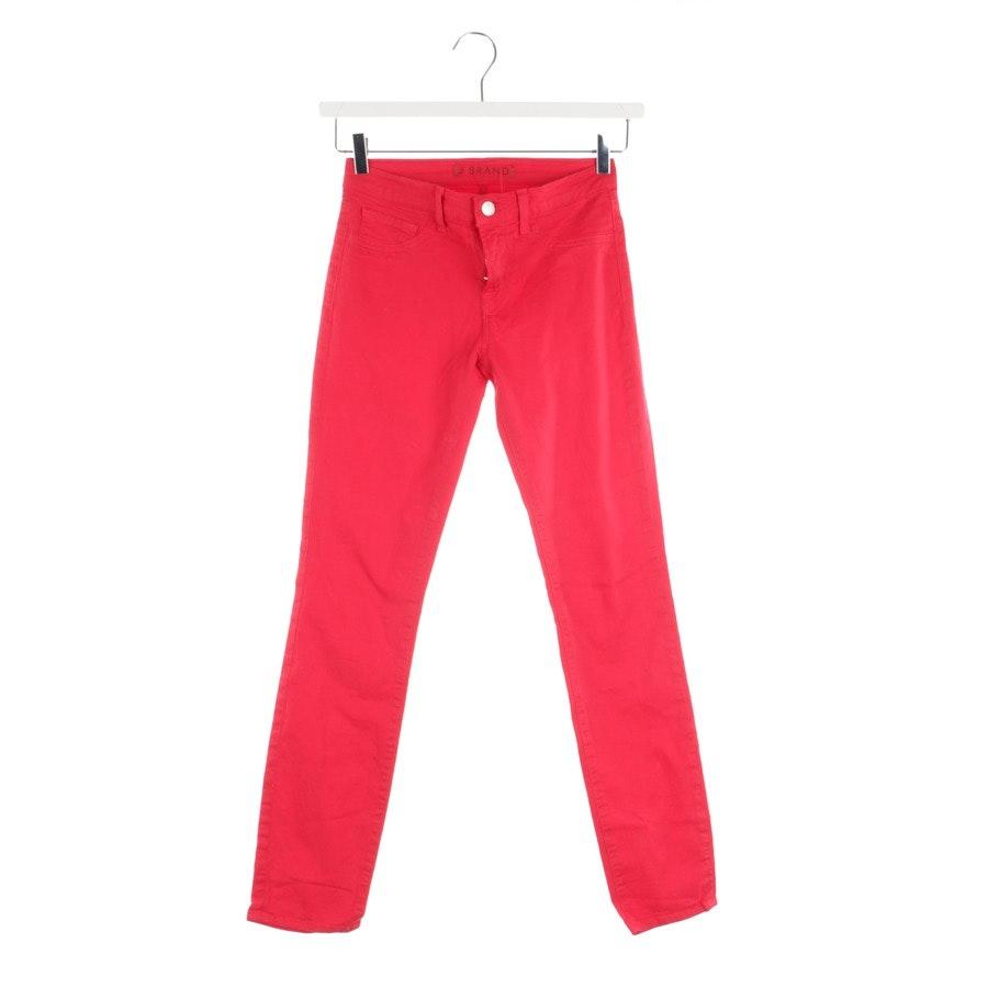 Jeans von J Brand in Himbeerrot Gr. W25
