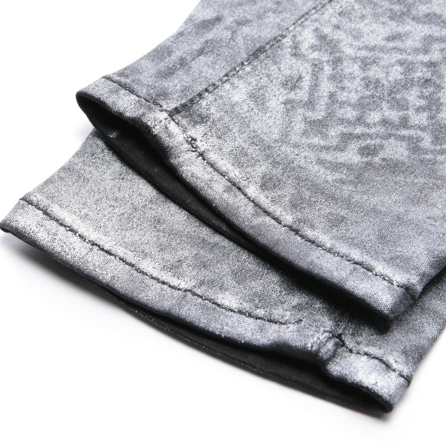 jeans from 7 for all mankind in silver and black size W26