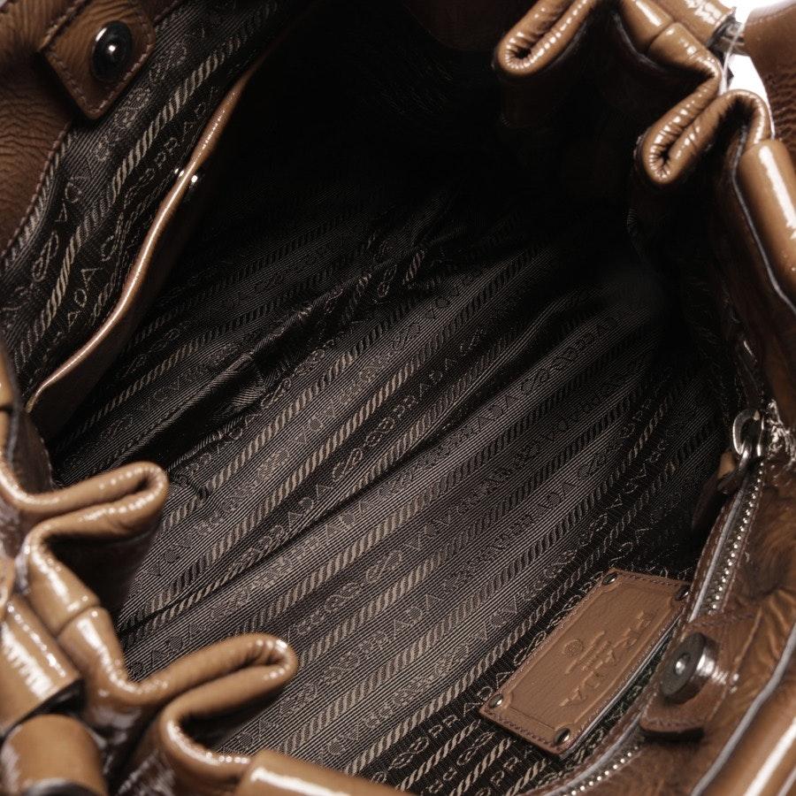 shoulder bag from Prada in green brown - cervo hobo