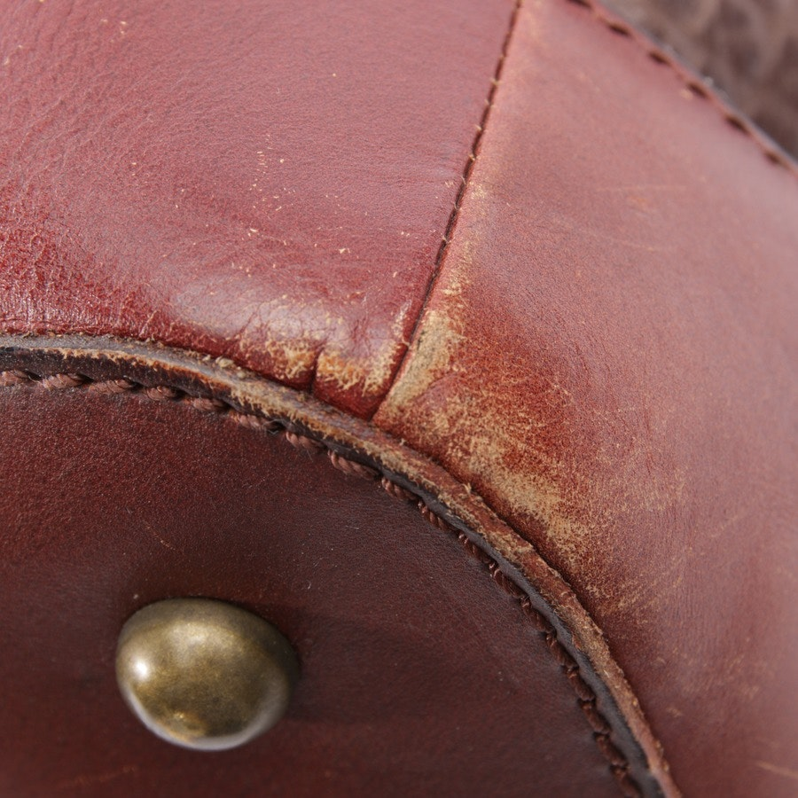 overnighter from Liebeskind Berlin in red-brown and brown