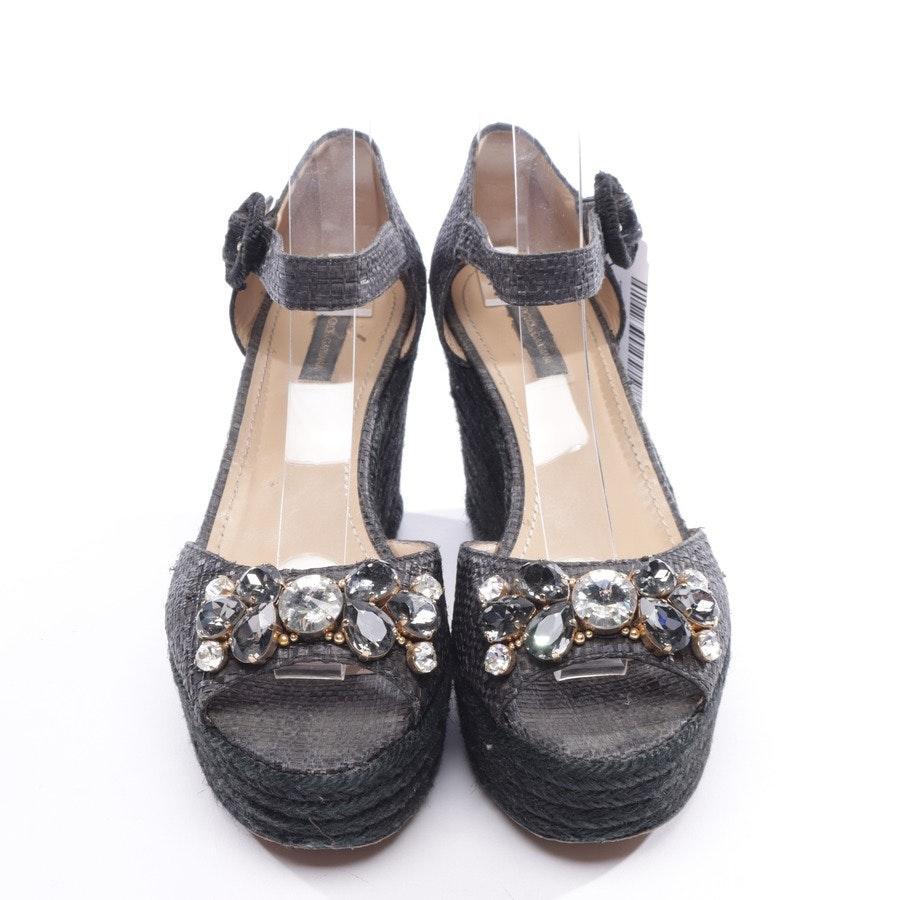 Wedges von Dolce & Gabbana in Schwarz Gr. EUR 37,5