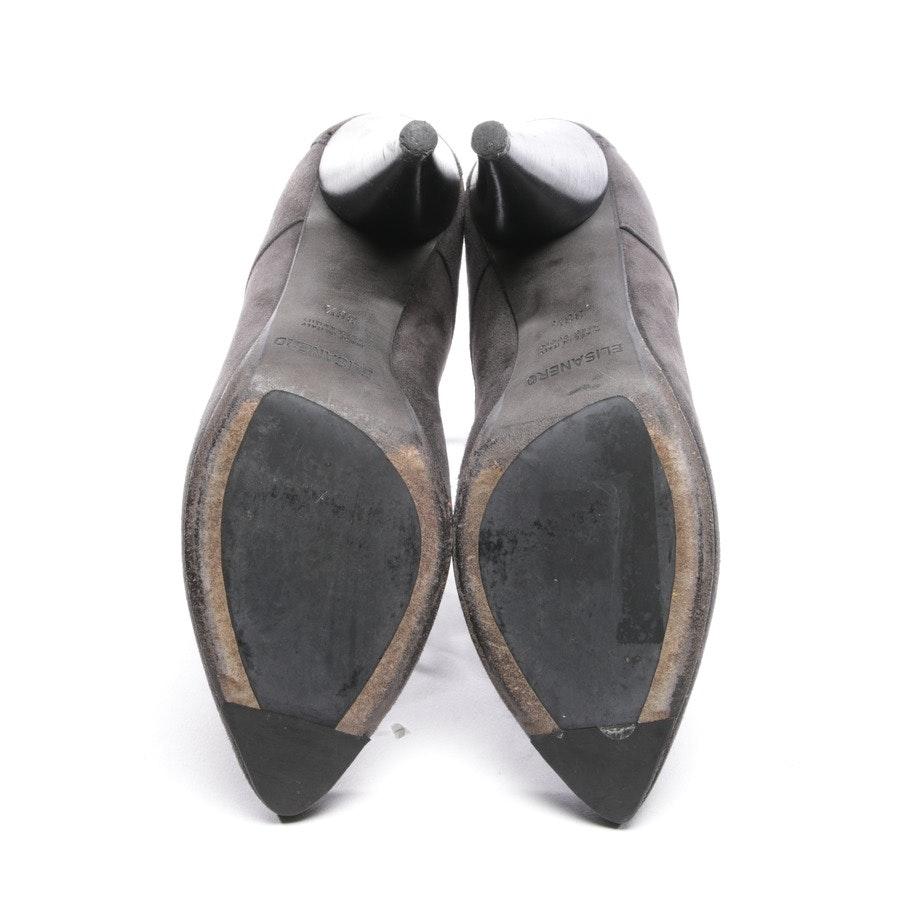 Ankle Boots von Elisanero in Anthrazit Gr. D 38,5