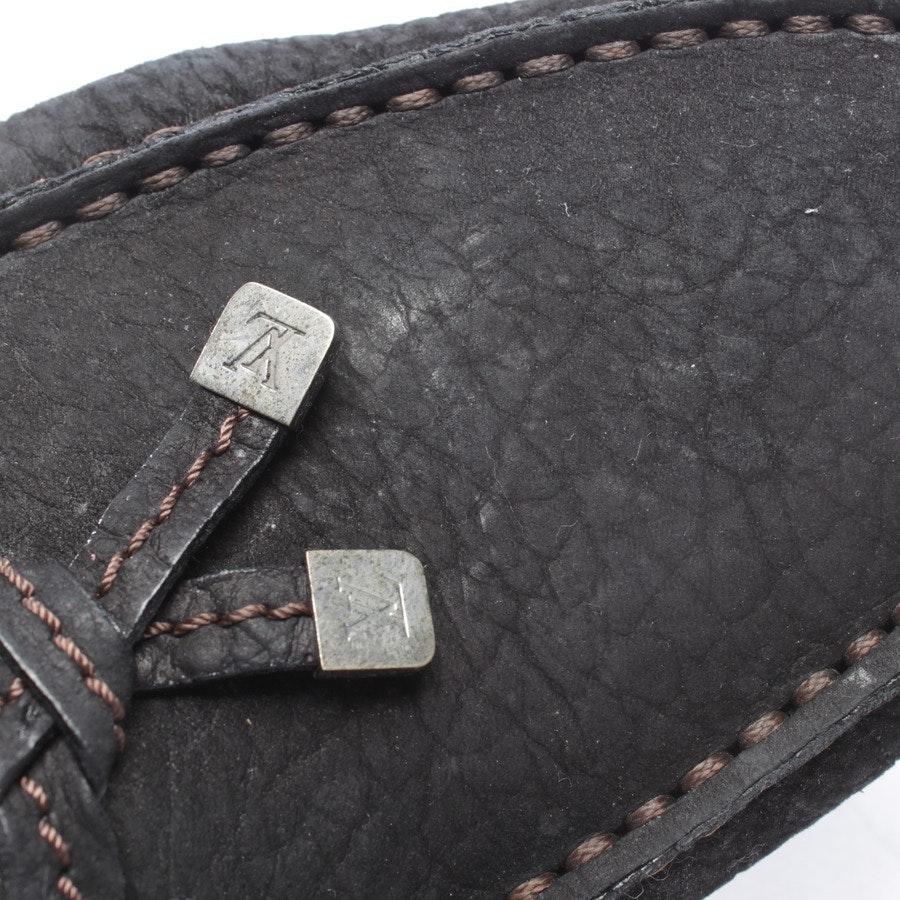 Mokassins von Louis Vuitton in Schwarz Gr. D 41,5 UK 7,5