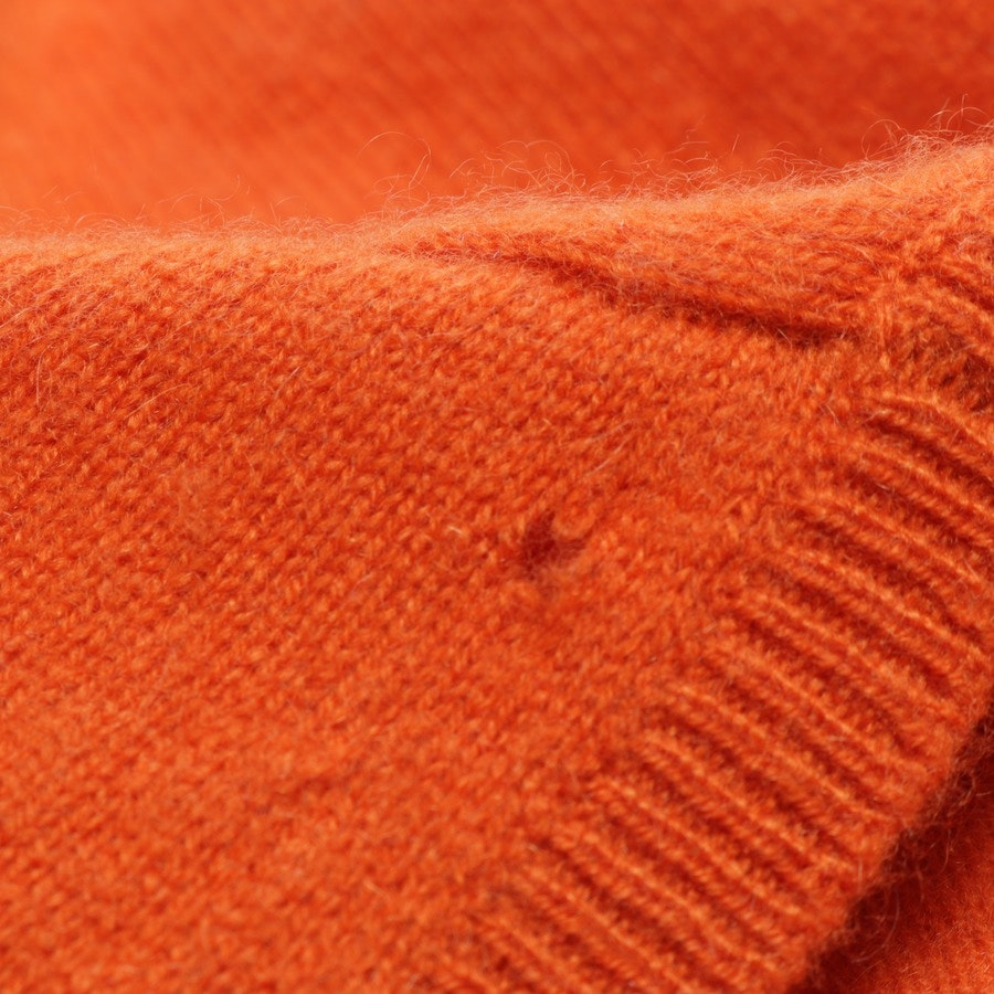 Kaschmirstrickjacke von Burberry London in Orange Gr. S