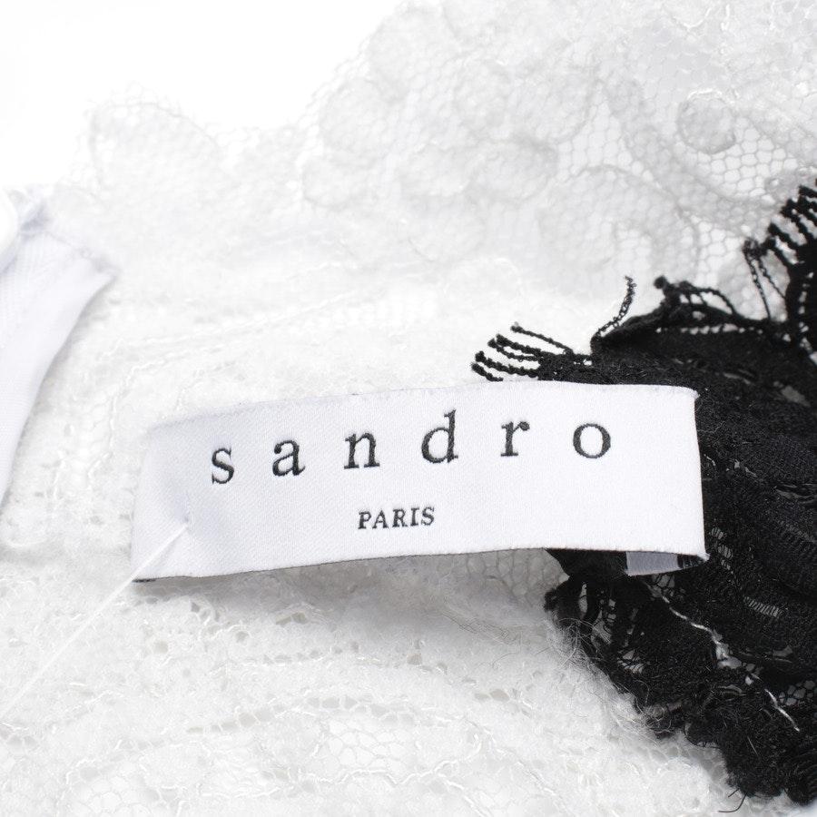 Cocktailkleid von Sandro in Schwarz und Weiß Gr. 34 / 1