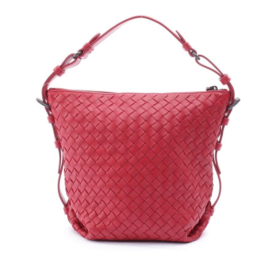 Handtasche von Bottega Veneta in Rot