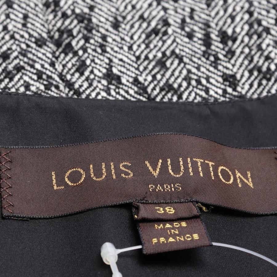 Übergangsjacke von Louis Vuitton in Schwarz und Weiß Gr. 36 FR 38