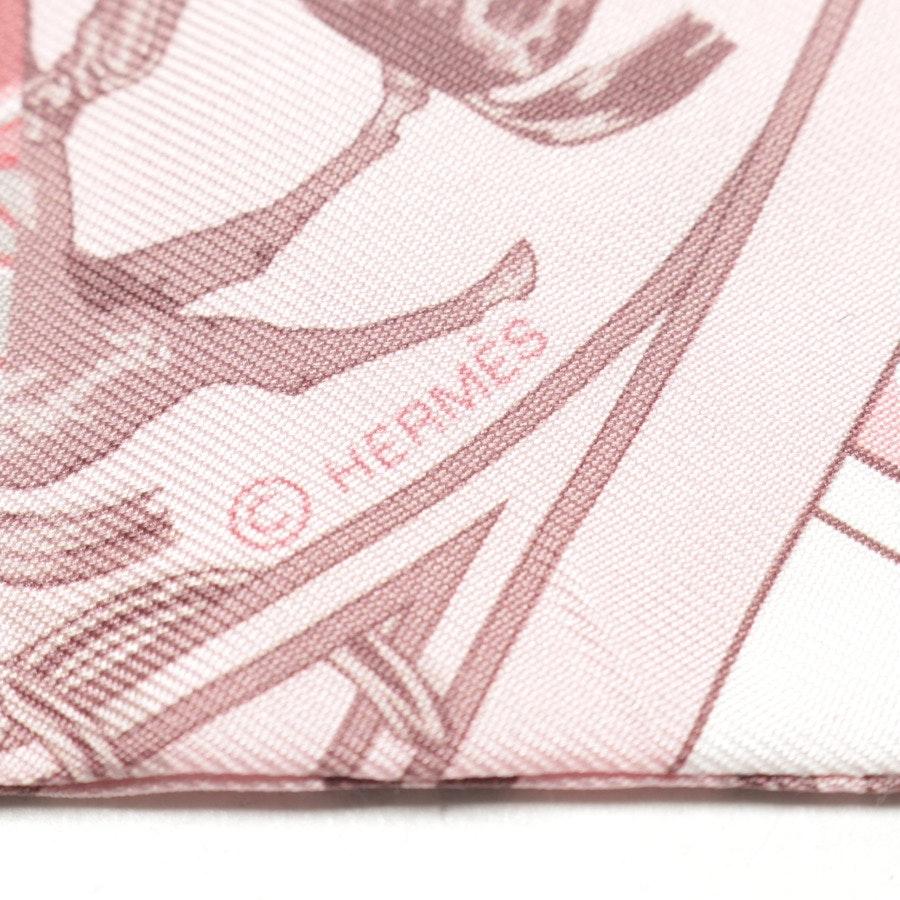 Seidentuch von Hermès in Rosa und Mehrfarbig