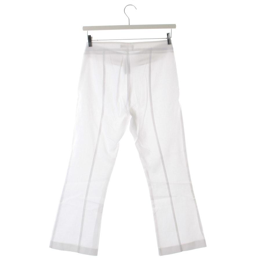 Hose von Stefanel in Weiß Gr. S