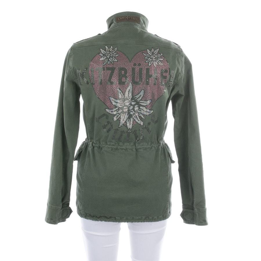 Übergangsjacke von Camouflage Couture in Khaki Gr. XS