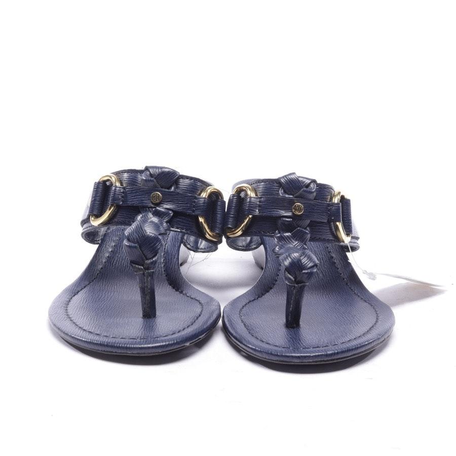 Sandaletten von Lauren Ralph Lauren in Dunkelblau Gr. EUR 36,5 US 6