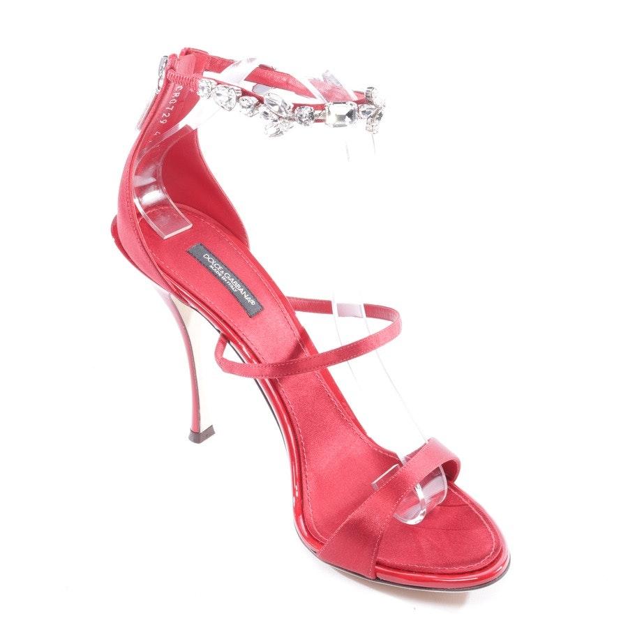 Sandaletten von Dolce & Gabbana in Rot Gr. EUR 37,5 - Neu