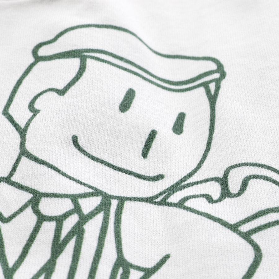 Shirt von Dolce & Gabbana in Weiß und Grün Gr. 34 IT 40
