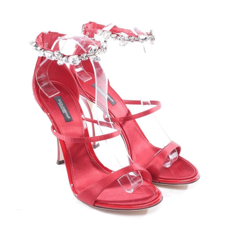 Sandaletten von Dolce & Gabbana in Rot Gr. EUR 39 - Neu