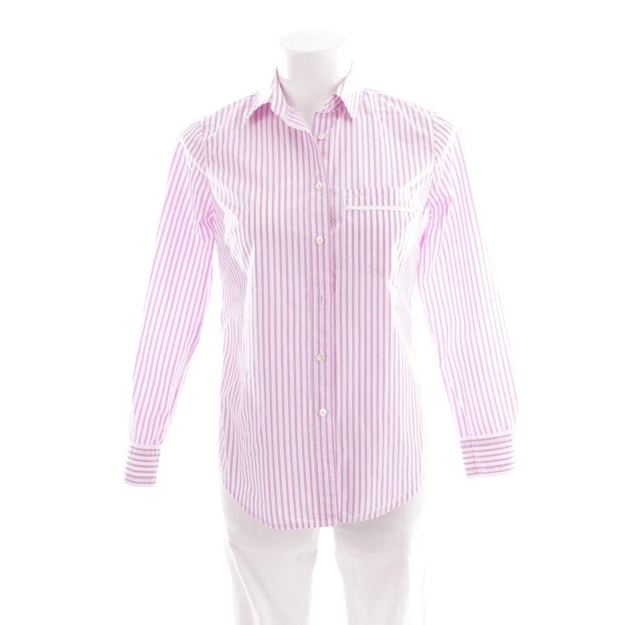 Bluse von J.CREW in Lila und Weiß Gr. DE 30 US 0