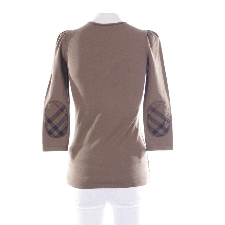 Shirt langarm von Burberry Brit in Olivgrün Gr. XS