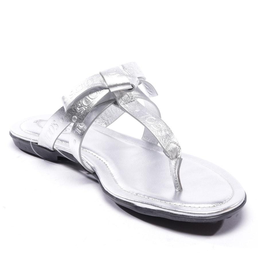 Sandalen von Tod´s in Silber Gr. EUR 36,5 - Neu