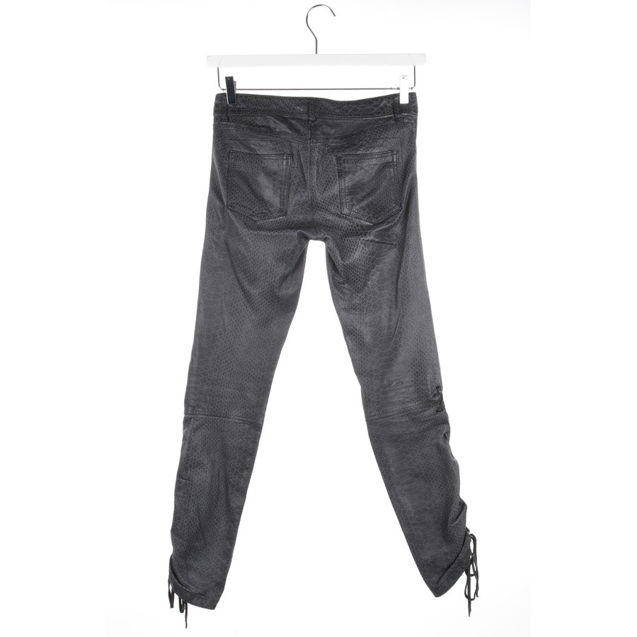 trousers from Le Cuir Perdu in dark grey size S