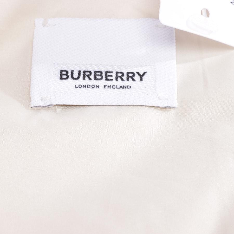 Übergangsjacke von Burberry in Braun und Weiß Gr. L