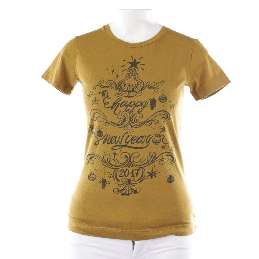T-Shirt von Dolce & Gabbana in Grünbraun Gr. DE 34 IT 40