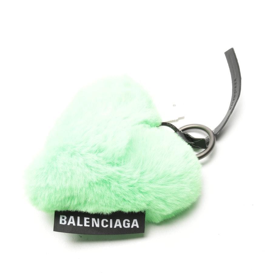 Schlüsselanhänger von Balenciaga in Neon Grün - Neu