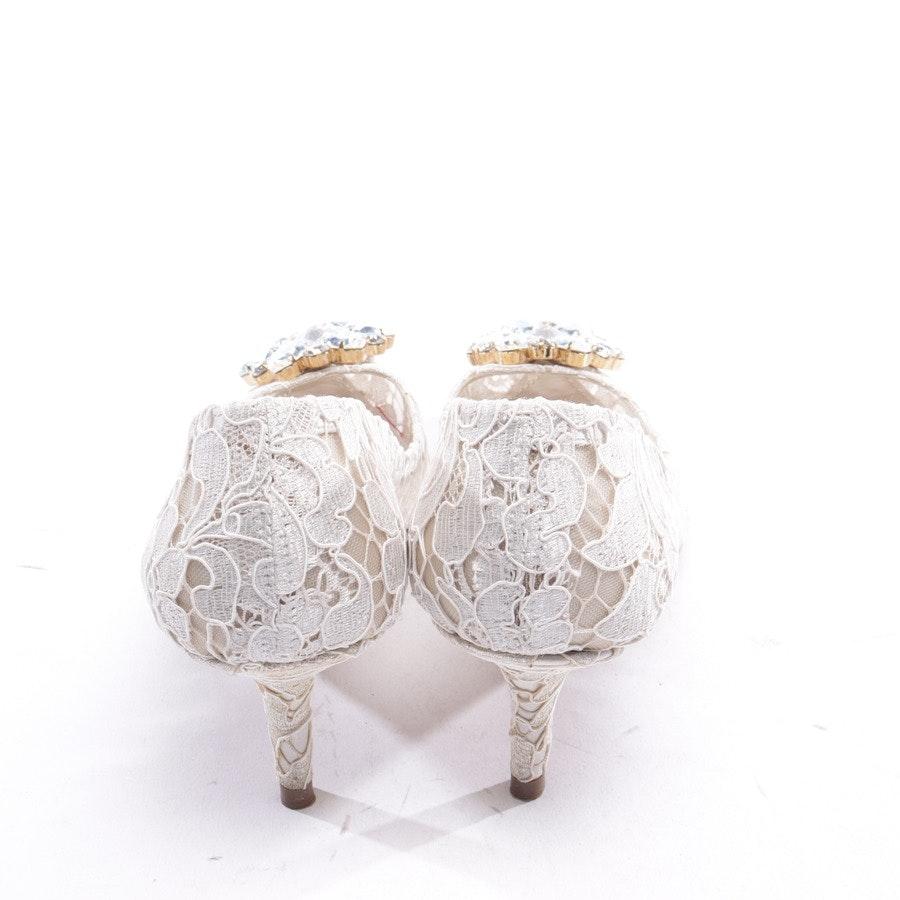 Pumps von Dolce & Gabbana in Weiß Gr. EUR 37