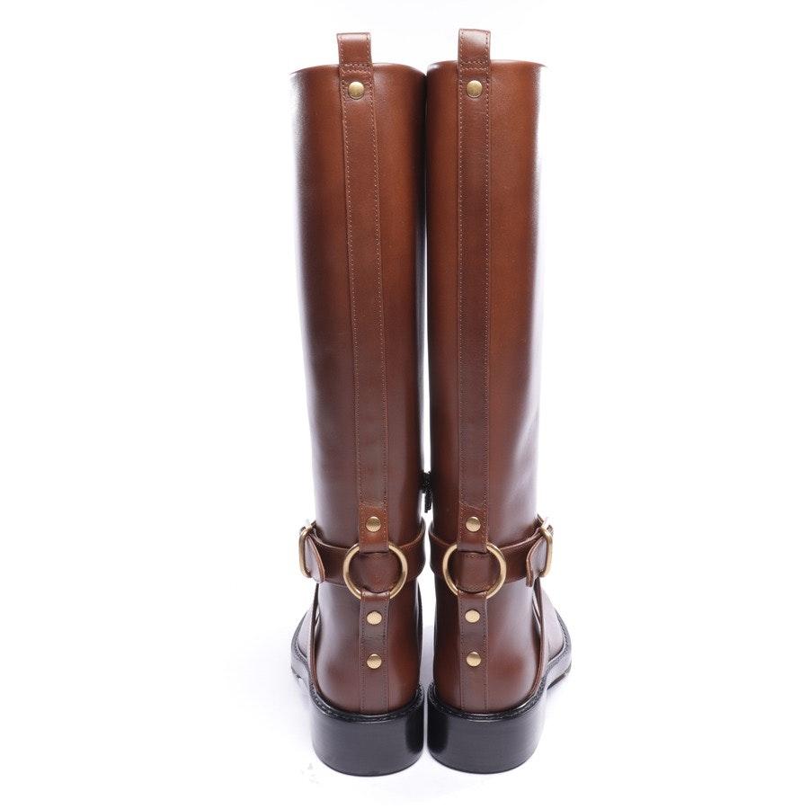 Stiefel von Chloé in Cognac Gr. EUR 38 - Neu