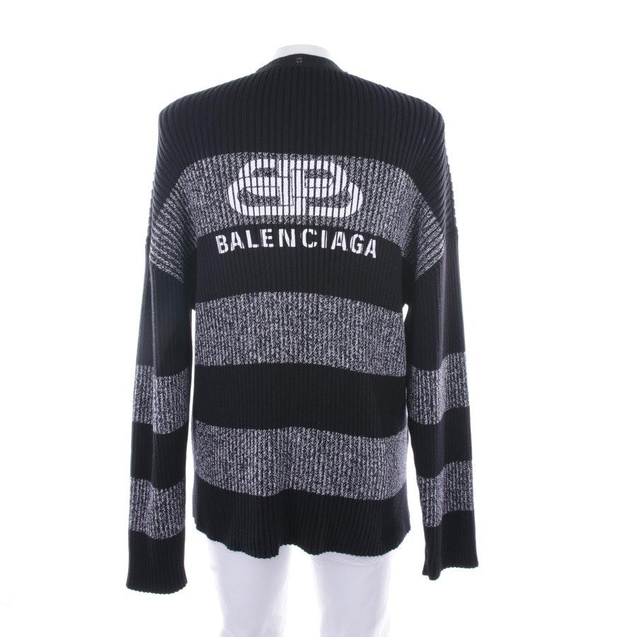 Strickjacke von Balenciaga in Schwarz Gr. L