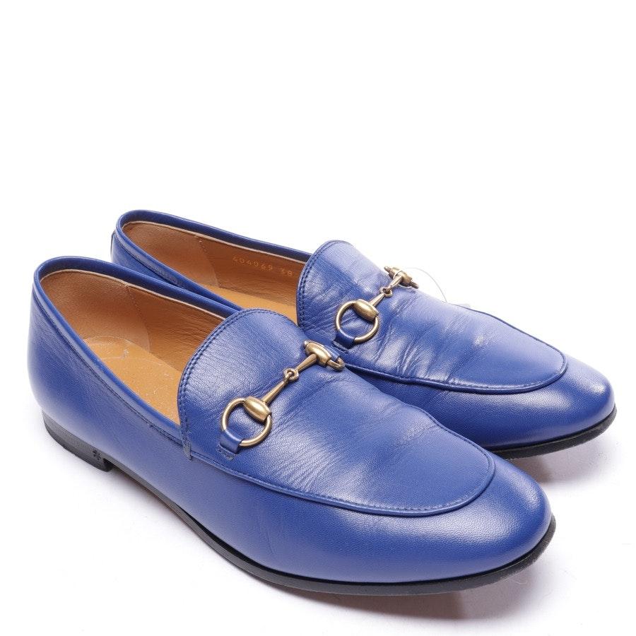Slipper von Gucci in Blau Gr. EUR 38