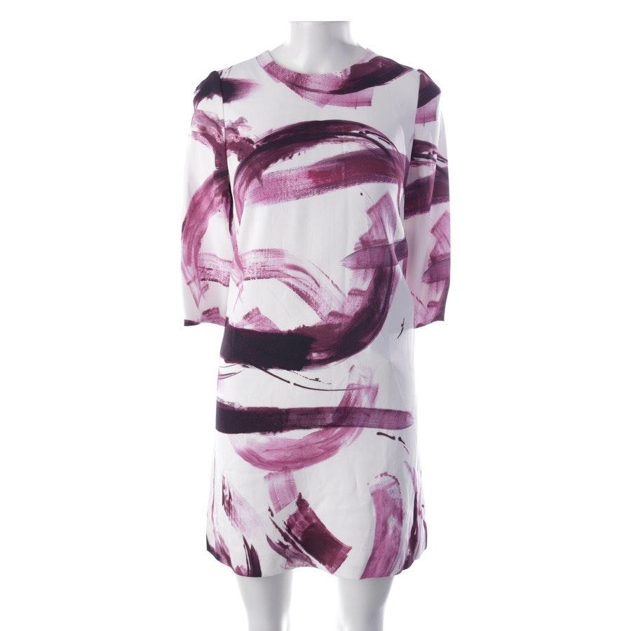 Kleid von Dolce & Gabbana in Weiß und Lila Gr. 34 IT 40 - Neu