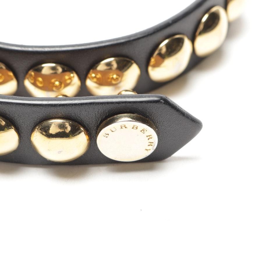 Modeschmuck von Burberry in Schwarz und Gold