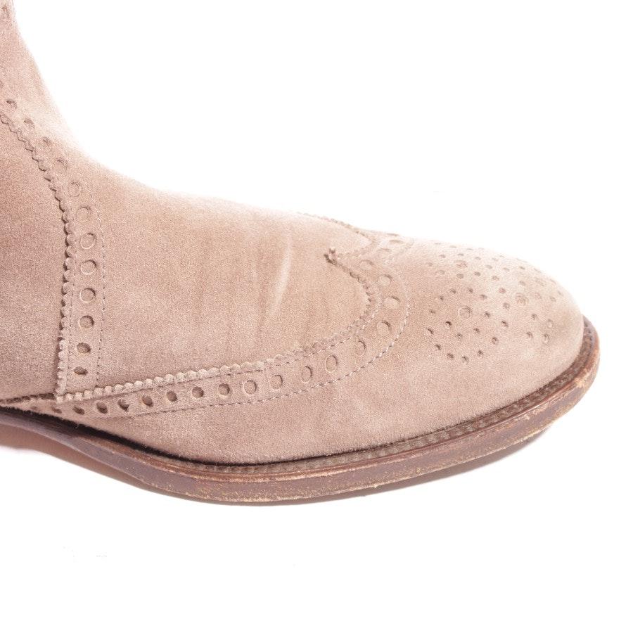 Chelsea Boots von Hermès in Grünbraun Gr. D 37