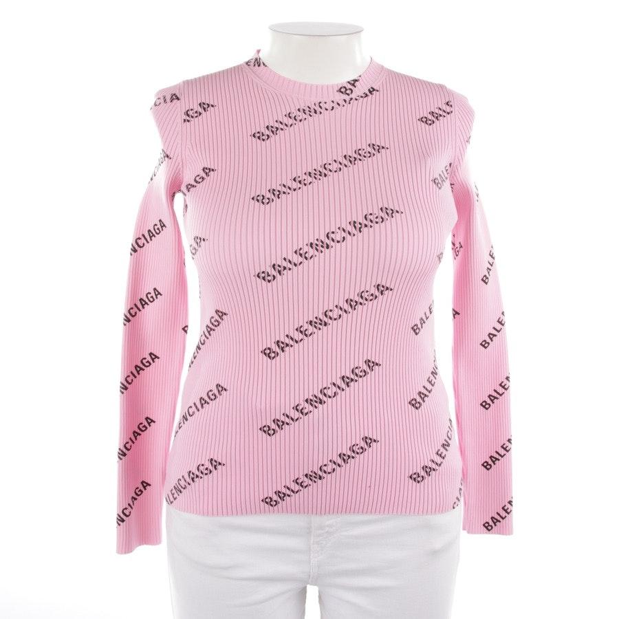 Pullover von Balenciaga in Rosa und Schwarz Gr. M