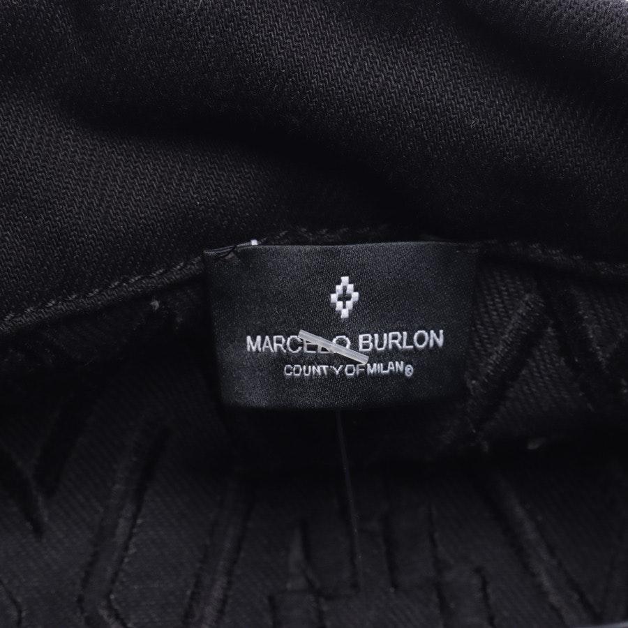 Jeansjacke von Marcelo Burlon in Schwarz Gr. M