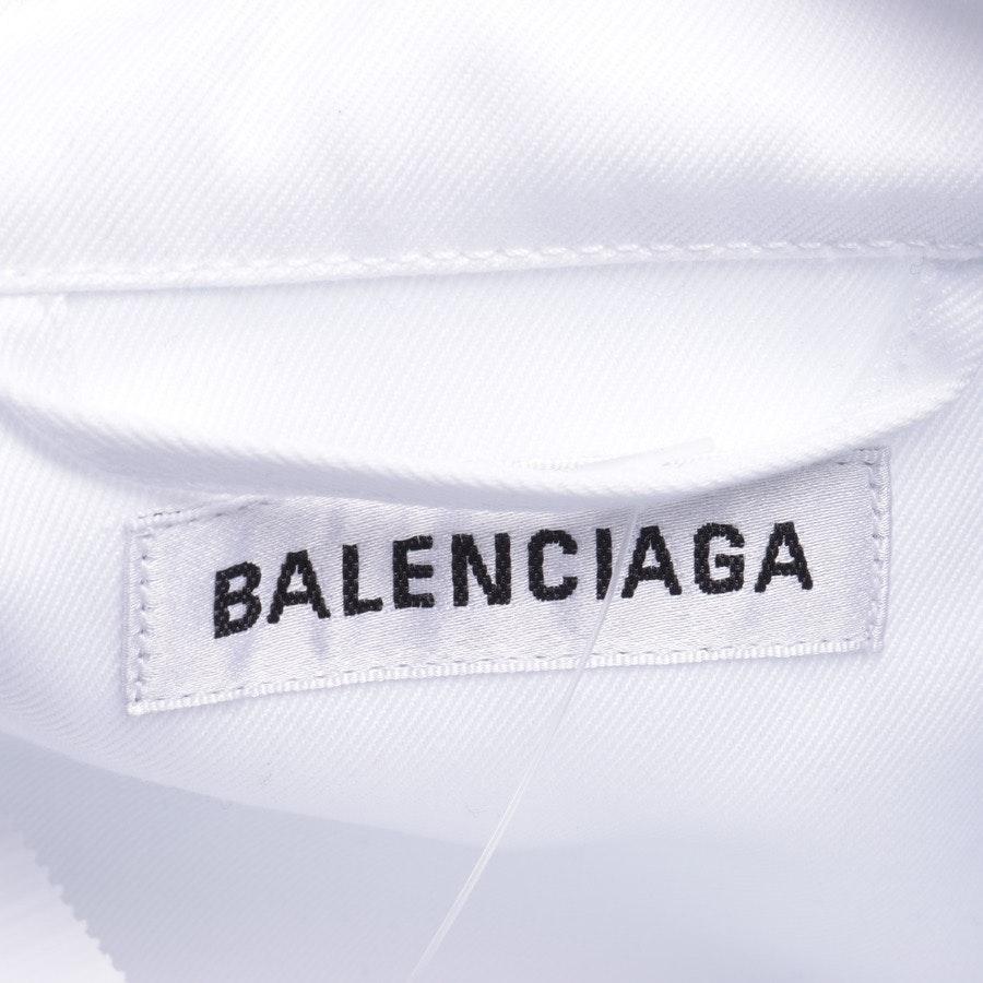 Freizeithemd von Balenciaga in Weiß Gr. 35-36 - Neu