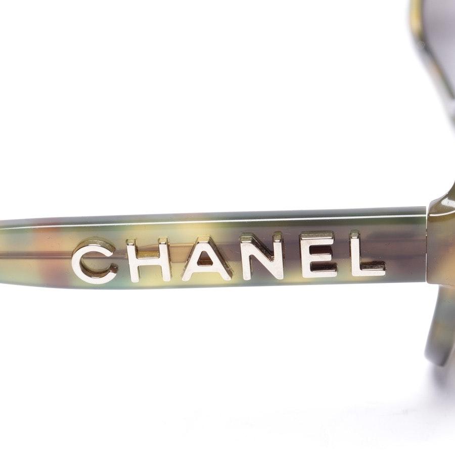 Sonnenbrille von Chanel in Grün und Gelb - c.1662/83 - Neu