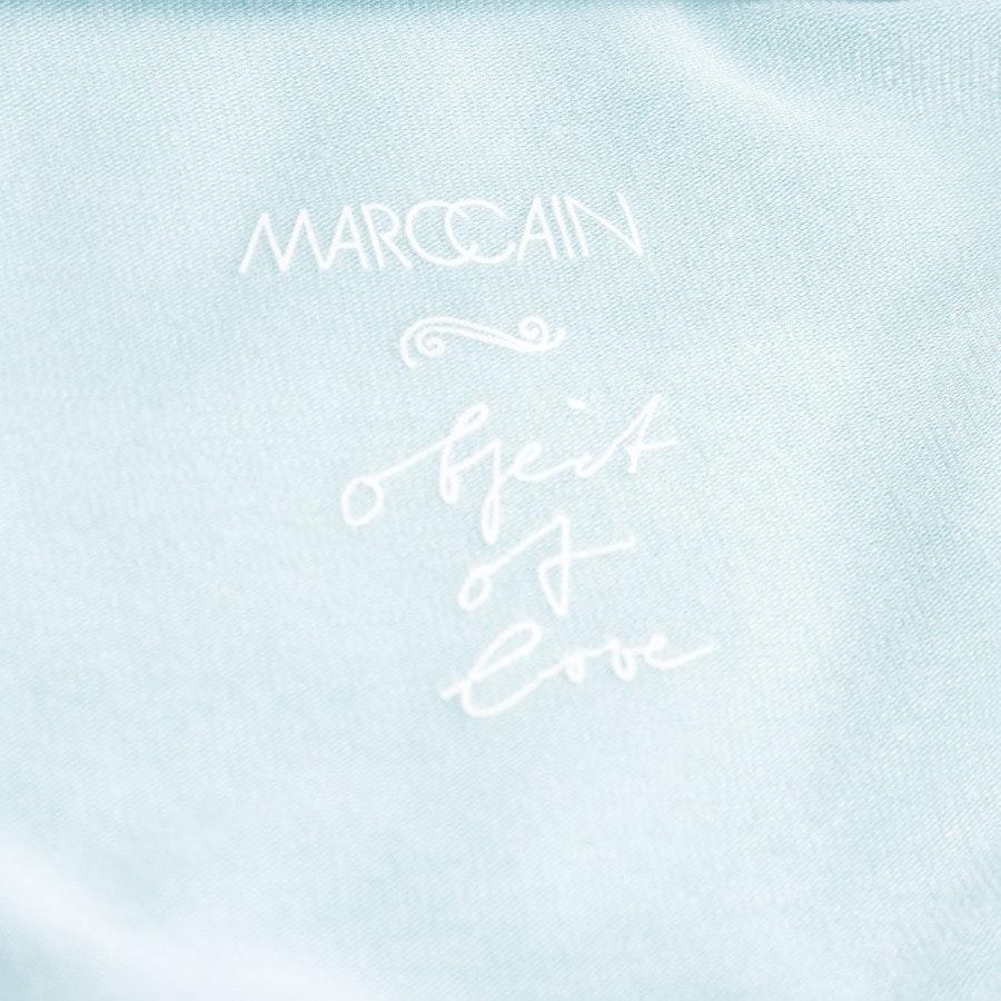 Seidenbluse von Marc Cain in Blau und Multicolor Gr. 36 N2