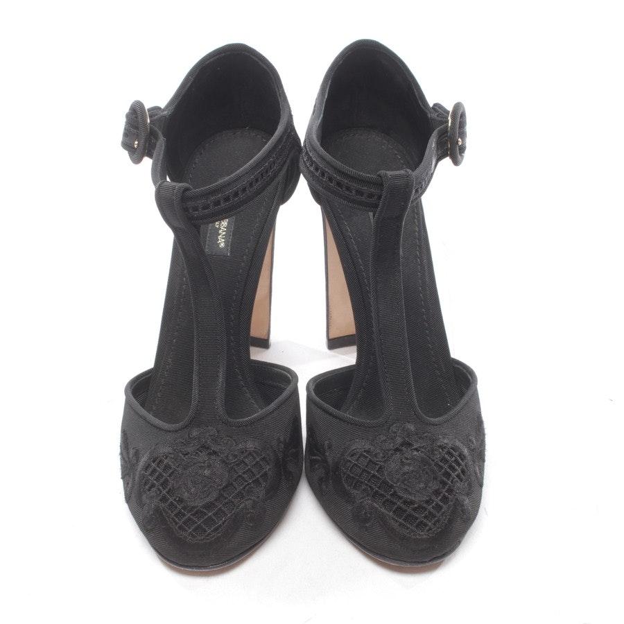 Mary Janes von Dolce & Gabbana in Schwarz Gr. D 37,5